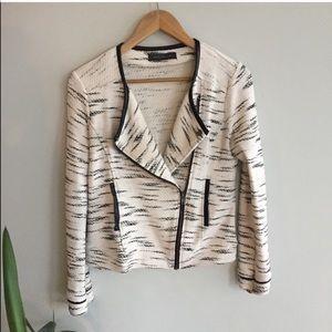 Tweed style light blazer